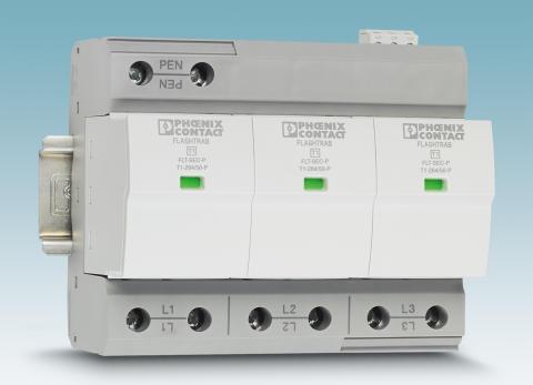 Safely handle lightning currents up to 50 kA