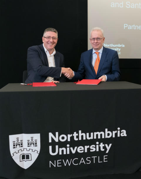 New partnership with Santander boosts entrepreneurship, enterprise and education