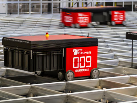 EET Group invests in world's most space efficient warehouse system