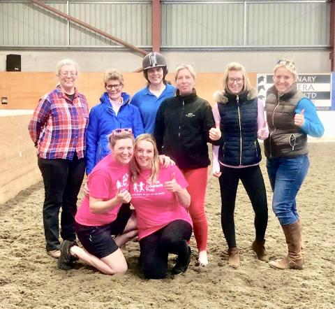 Cumbrian horse riding centre giddies up to raise money for The Sick Children's Trust
