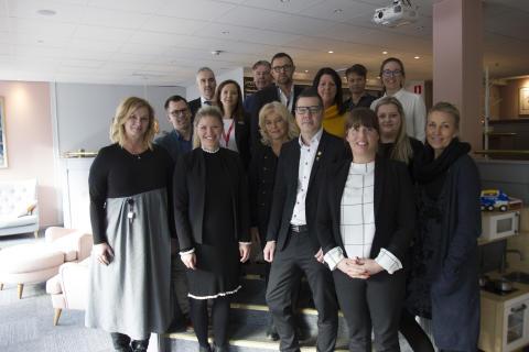 Yrkesgymnasiet och hotell-Umeå drog upp riktlinjerna för nya hotell- och turismprogrammet