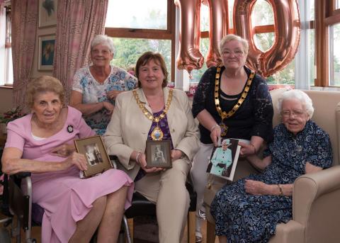 Maud Nicholl celebrates 110th Birthday