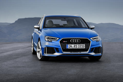 Ny motor och ännu skarpare design i uppdaterade Audi RS 3 Sportback