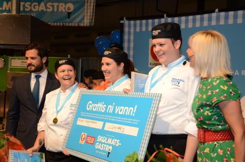 Helenas Skogsträdgård - lyckliga vinnare i Skolmatsgastro 2014