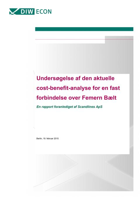 DIW Econ Femern rapport DK