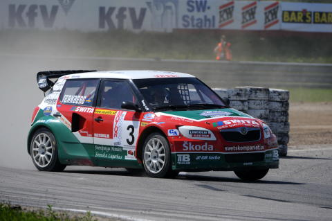 Super World Rally Championship  VM-silver till Sandell