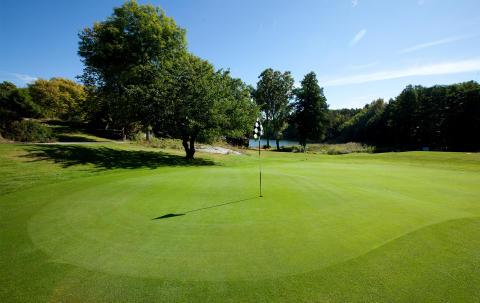 Golfbanan på Smådalarö Gård