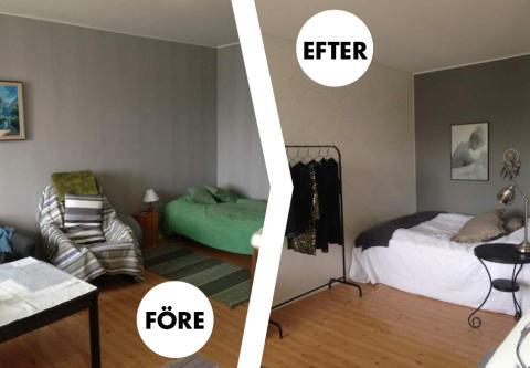 Renovering av sovhörnan i en liten lägenhet i 5 steg