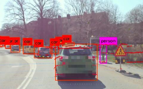Qamcom utvecklar teknik för självkörande bilar