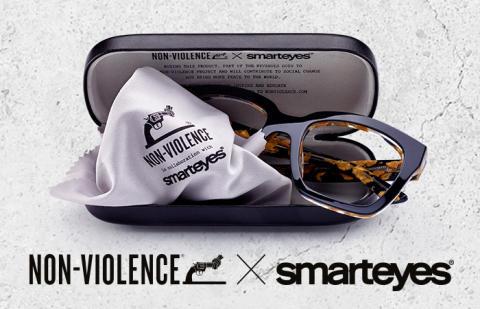 Med Smarteyes nya kollektion kan du ta ställning mot våldet.