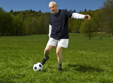 Walking football growing in popularity