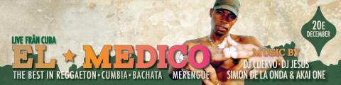 El Medico [KUBA] live på Moriskan 20/12