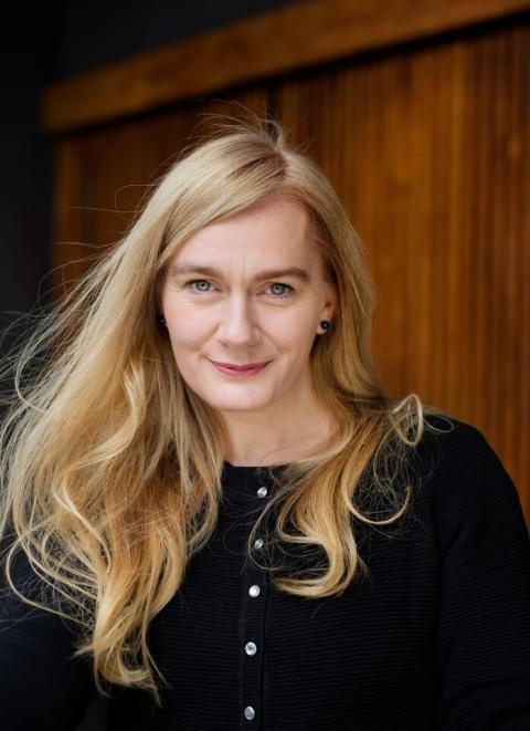 Portrett av Marit Eikemo. Foto: Agnete Brun