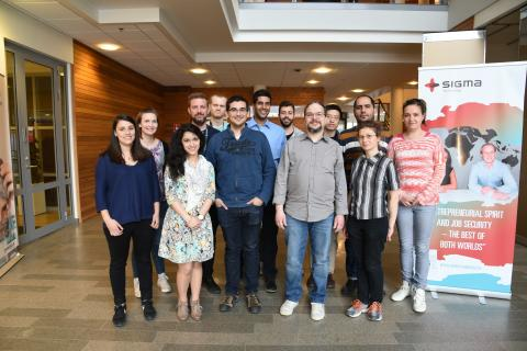 Sigma Technology holds free Swedish language sessions for foreign engineers in Gothenburg