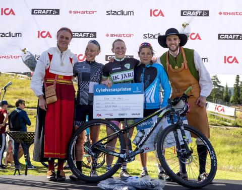 Cykelvasasprinten 2017 damer