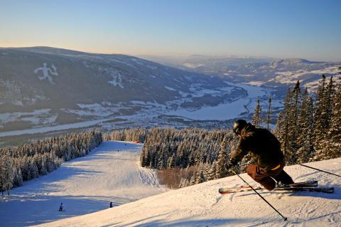 Långa backar och korta köer i Norges nya alpina centrum.