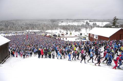 Deltagare län för län i Vasaloppets vintervecka 2017