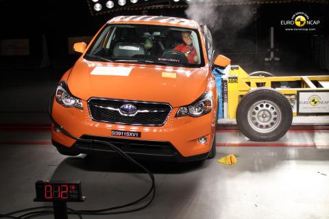 Subaru XV erhöll fem stärnor i Euro NCAP 2011