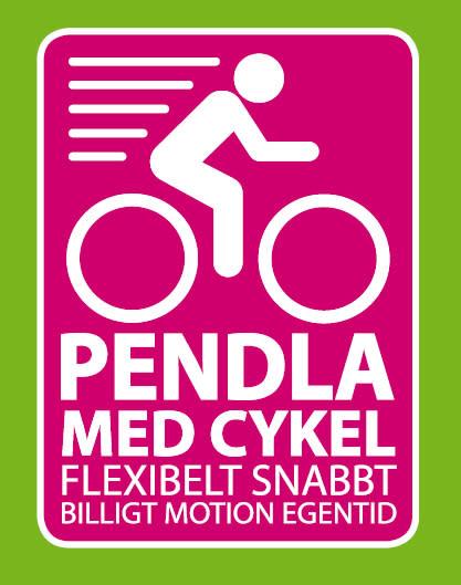 Pendla med cykel