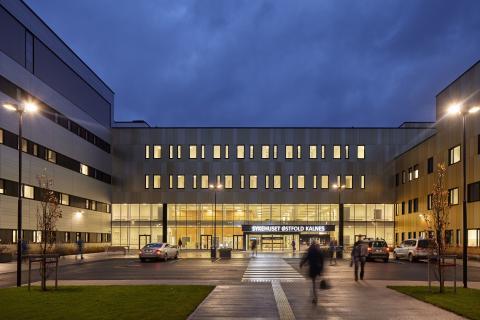 Norges modernaste sjukhus är i full drift