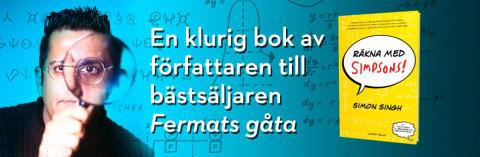 Homer Simpsons matematiska hemligheter i ny bok av författaren till Fermats gåta