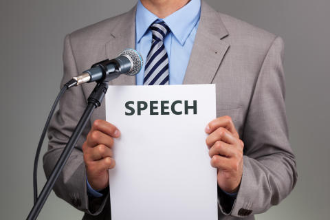 How to deliver a written speech without sending your audience to sleep