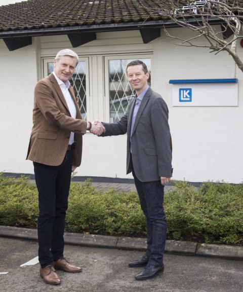 LK etablerar eget kontor och lager i Tyskland