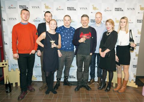 Matbordet receives Gulddraken's honorary award
