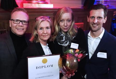 Considlösning utsedd till Sveriges bästa!