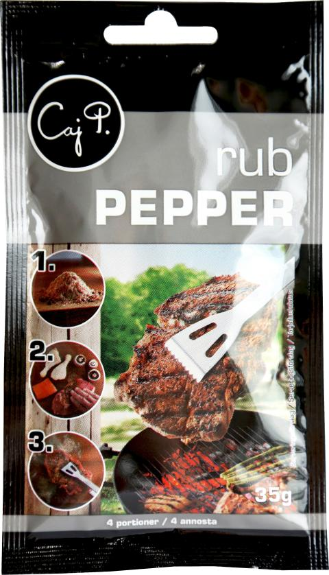 Caj P Rub Pepper