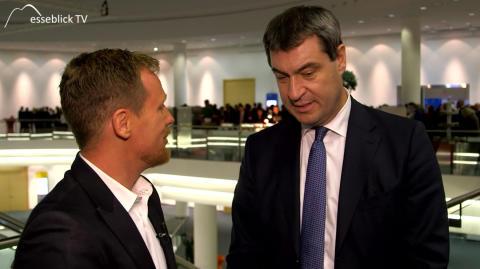 Messeblick.TV im Interview mit Herrn Dr. Markus Söder