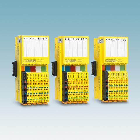 I/O systemet Axioline F har nu SafetyBridge teknologi
