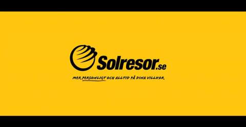 Solresor gör reklamfilm