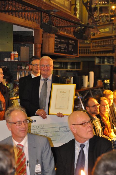Rune  Lagneborg priset 2012