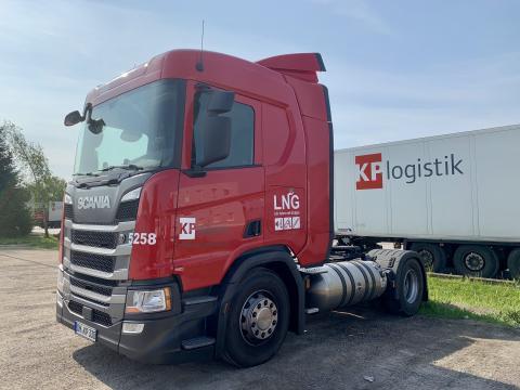 KP Logistik fährt mit Flüssiggas