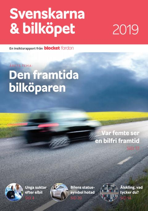 Svenskarna & bilköpet 2019 - Den framtida bilköparen