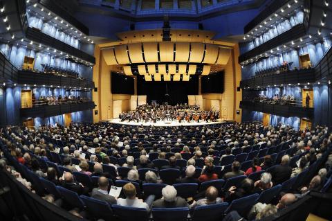 Konsert presenteras på sex språk