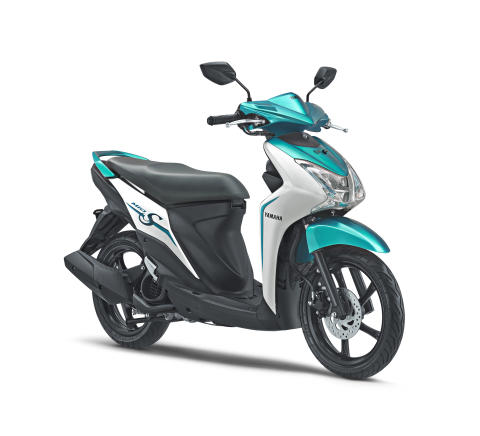 スリムで優美なスクーター「MIO S」 インドネシアで発売 小柄な女性でも扱いやすい車体で最大需要層での販売拡大を目指す