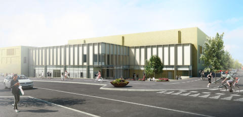 Arcona bygger dubbel idrottshall i Älvsjö