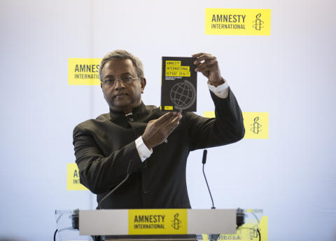 Salil Shetty, generalsekreterare Amnesty International.
