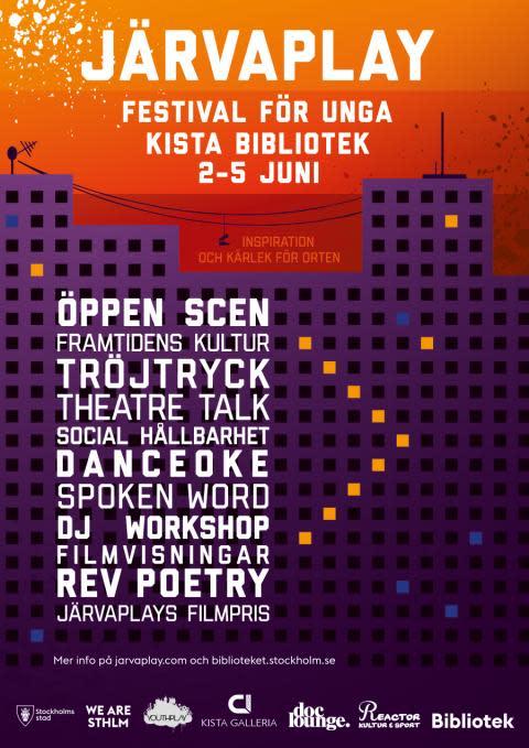 Järvaplay - festival för unga på Kista bibliotek