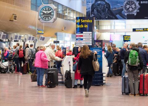 Antalet flygresenärer fortsätter att öka