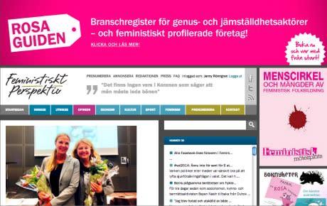 Nu startar Feministiskt Perspektivs tvådagarsutgivning