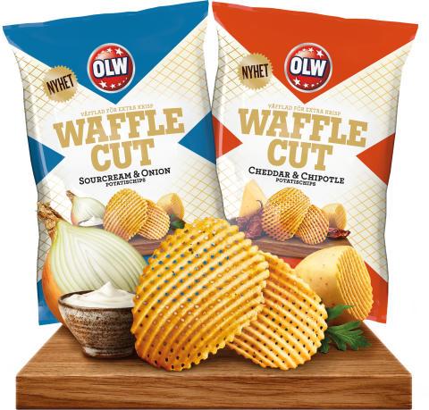 Ett rutigt chips – nyhet från OLW