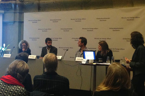 Beröm och relevanta rekommendationer när EBA presenterar sin rapport om Sverige och UNGP