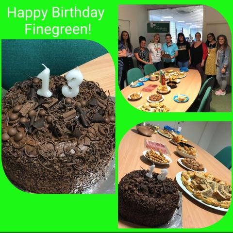 Happy 13th Birthday Finegreen!