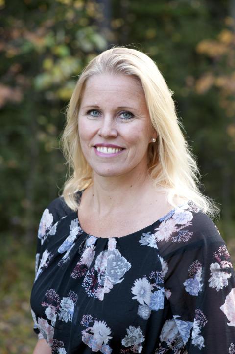 Victoria Lundqvist-Johansson, marknadschef för Norrmejeriers lokala marknad