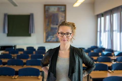 Amanda Swedsudde, Jämnt på jobbet