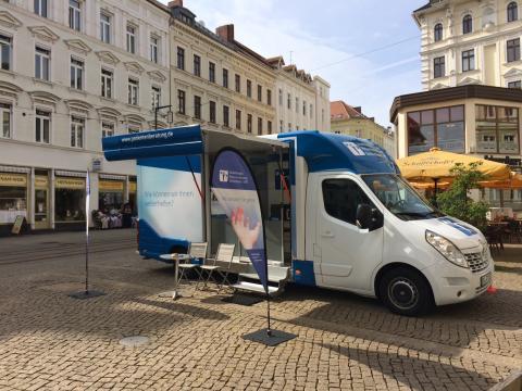 Beratungsmobil der Unabhängigen Patientenberatung kommt am 8. November nach Görlitz.