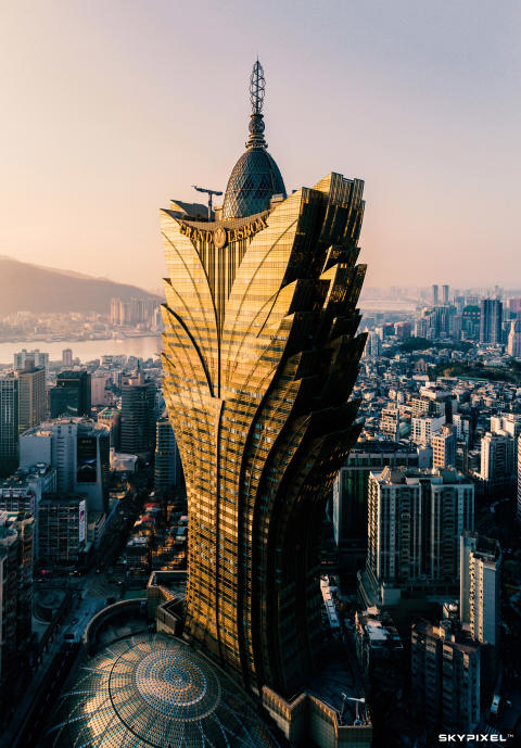2018 SkyPixel Contest-Photo Group-Third Prize-Architecture-日照新葡京